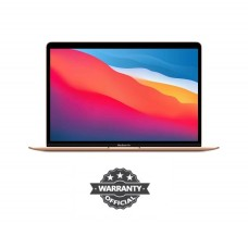 Apple MacBook Air 13.3-Inch Retina Display 8-core Apple M1 chip with 8GB RAM, 256GB SSD (MGND3) Gold