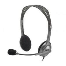 Logitech H110 STEREO Headset (Two port)