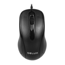 Delux M332BU Wired USB Optical Mouse